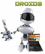 Droid 3 robot para crear blogs y paginas web rapidamente